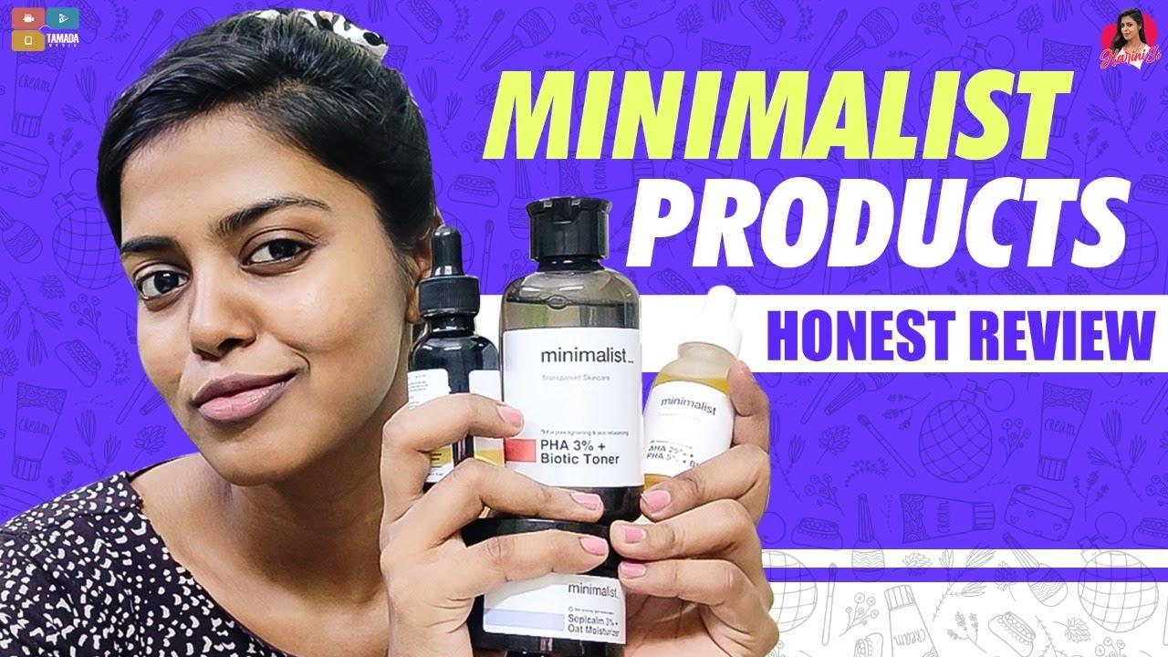 MINIMALIST products|CHEMICAL EXFOLIATER,Toner, Vit C Serum,Moisturiser|தமிழ்| HARINI SI