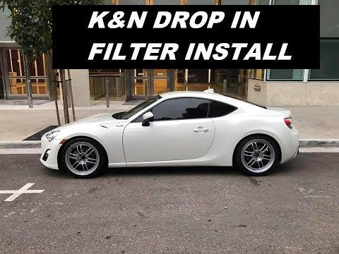 Review: K&N Filter on Subaru BRZ   Doovi
