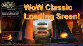 Classic WoW Loading Screen (Patch 1.13) - Legends of Azeroth