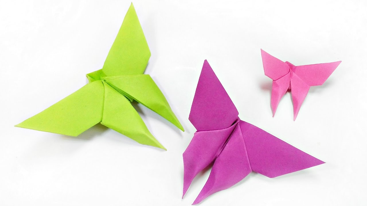 How to make paper origami butterfly easy step by step for kids for how to make paper origami butterfly easy step by step for kids for beginners instructions tutorial jeuxipadfo Images