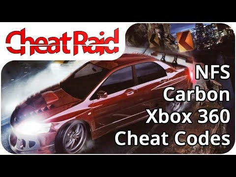Need For Speed: Carbon Cheat Codes | Xbox 360