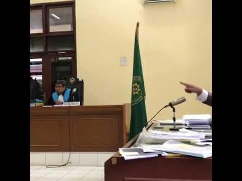 Hakim Bengong Lihat Hotman Paris Debat Lawan nya di PTUN Jakarta