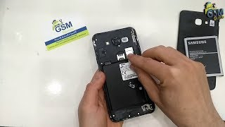 J7 Core SM-J701F How To Set Up , Activate & Insert / Remove SIM Card - Gsm Guide