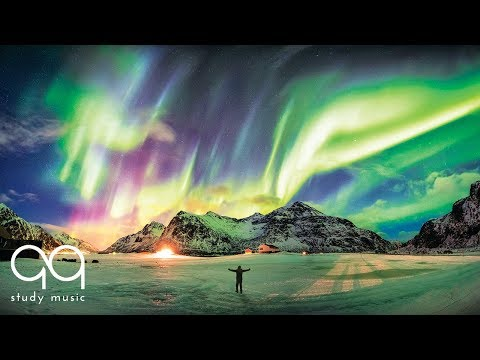 Super Intelligence 💡 Post Rock Study Music to Improve Focus & Concentration 🌟 Aurora Borealis