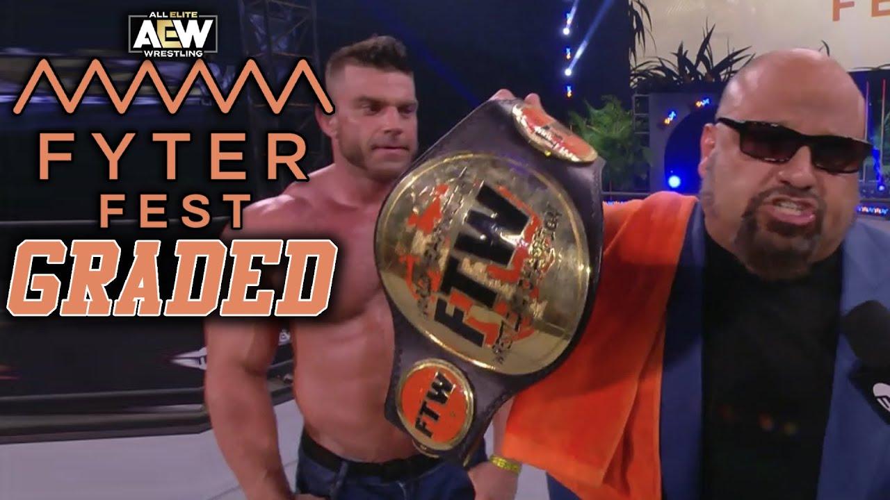 AEW Fyter Fest 2020 Night 2: GRADED | Tazz Crowns FTW Champion, Chris Jericho vs. Orange Cassidy