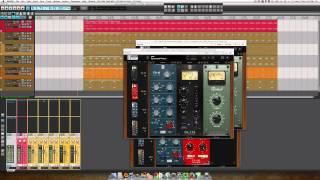 Slate Digital Virtual Mix Rack Demo with EDM loops