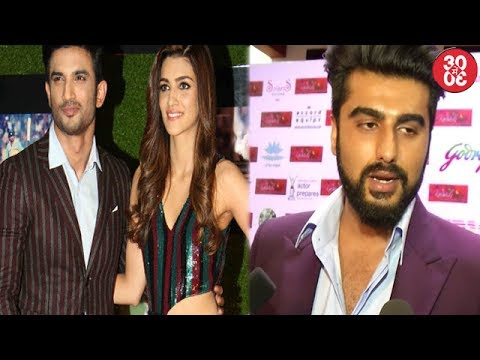 Thumbnail: Sushant-Kriti Hold Hands At 'Sachin-A Billion Dreams' Premiere | Arjun On Half Girlfriends Response