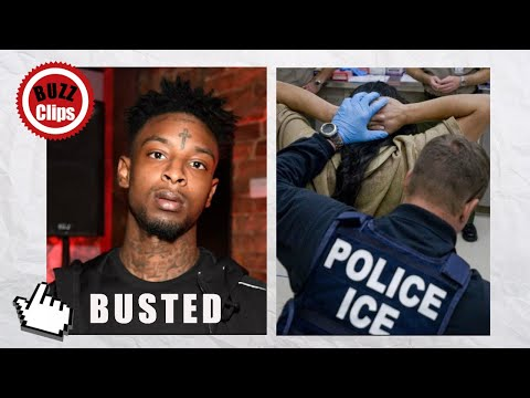 Rapper 21 Savage ARRESTED by ICE For Allegedly Overstaying Visa Mp3