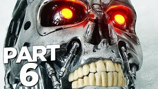 TERMINATOR RESISTANCE Walkthrough Gameplay Part 6 - T-850 BOSS (FULL GAME)