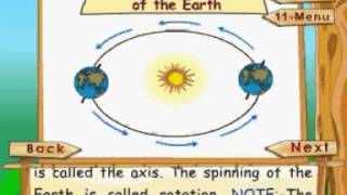 Learn Science - Class 3 - The Solar System - Rotation And Revolution Of The Earth - Animation