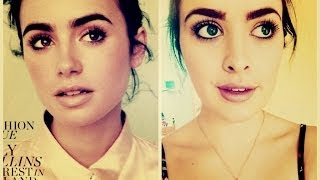 Lily Collins Inspired Makeup | HelloKatyxo