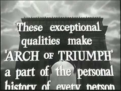 Arch of Triumph (1948) Film Trailer