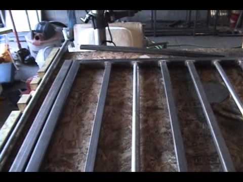 Welding A Wrought Iron Gate By Mr Energy Youtube