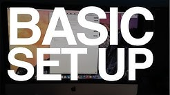iMac 27 inch Basic Set Up - Beginners Guide manual