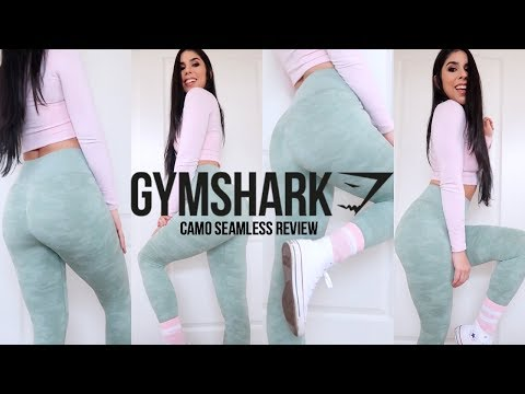 b4be802d71d95 GYMSHARK CAMO SEAMLESS REVIEW - YouTube
