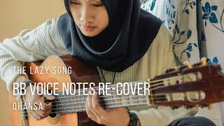 Bruno Mars - The Lazy Song (Acoustic Cover) Qhansa
