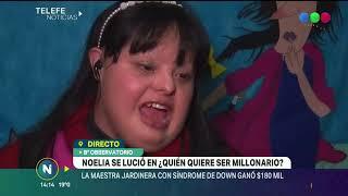 NOELIA GARELLA, UN EJEMPLO DE SUPERACIÓN, TRAS SU PARTICIPACIÓN EN QUIÉN QUIERE SER MILLONARIO