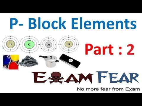 Chemistry P Block Elements part 2 (Trends in properties) CBSE class 11 XI