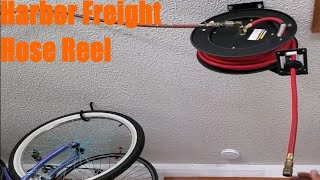 homepage tile video photo for Harbor Freight Air Hose Reel