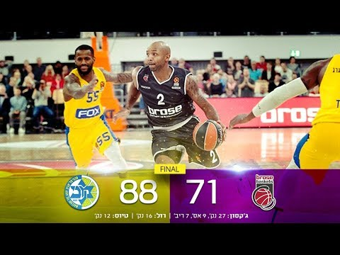 Euroleague Game 1: Brose Bamberg 71 - Maccabi FOX Tel Aviv 88