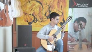 Lê Minh: El Abejorro (Emilio Pujol) & Asturias (Albeniz) - Guitar Solo