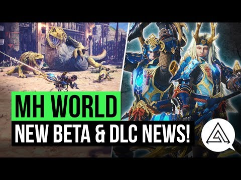 Download Youtube: Monster Hunter World News | Second Beta Announced, New DLC Details & Special USJ Armor