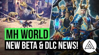 Monster Hunter World News | Second Beta Announced, New DLC Details & Special USJ Armor