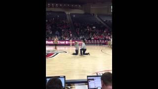 vuclip Liberty University basketball engagement