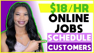 🗓 $18 HOURLY Work-From-Home Jobs! Get Paid to Schedule Appointments | Apply ASAP!!