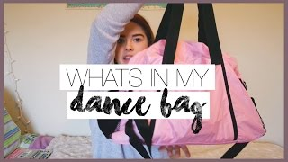 WHATS IN MY DANCE BAG // 2016