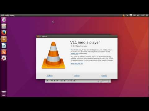 Install VLC Player on Ubuntu 16.04