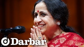 Amazing Carnatic music | Aruna Sairam at Darbar Festival