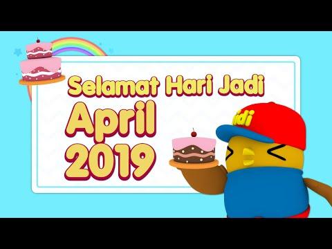 Didi & Friends   Selamat Hari Jadi   April 2019