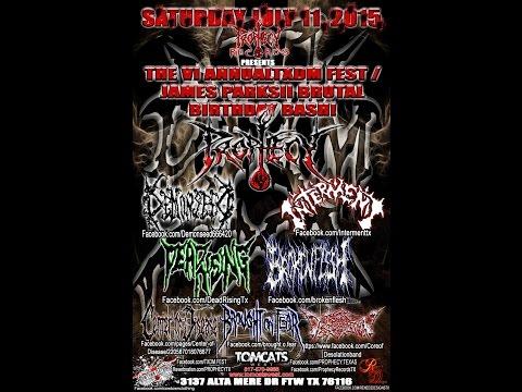 7-11-15 TXDM FEST VI - PROPHECY - FULL SET!!!!!!