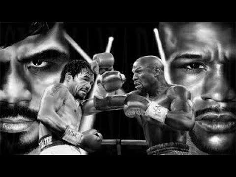 Floyd weather Jr. vs Manny Pacquiao Simulation Prediction (EA SPORTS UFC)