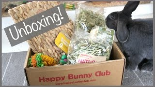 Happy Bunny Club Subscription Box Unboxing thumbnail
