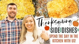 THANKSGIVING SIDE DISHES | WHAT'S FOR DINNER-THANKSGIVING STYLE | JESSICA O'DONOHUE