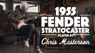 1955 Fender Stratocaster played by Chris Masterson