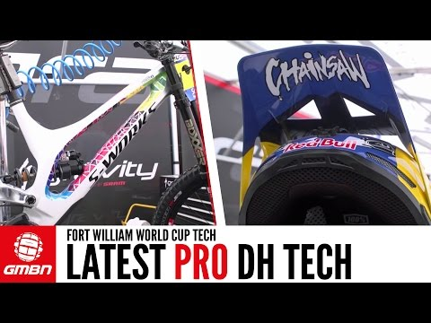 Latest Downhill World Cup Tech From The Fort William World Cup