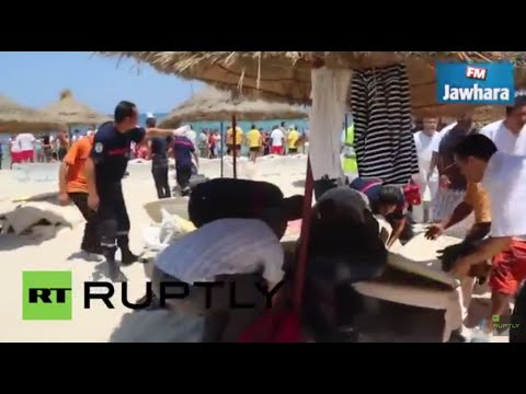 Tunisia: Locals frantically attend to injured tourists after deadly resort attack