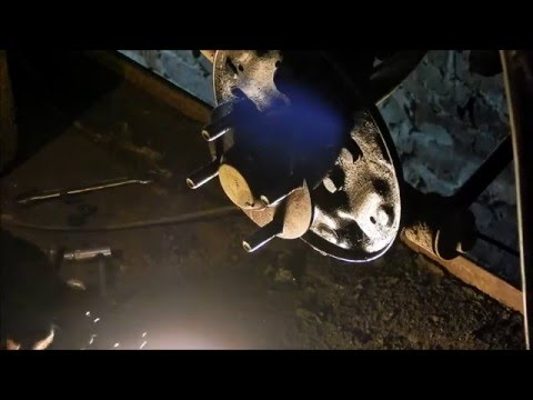 Kia Shuma. Ремонт ходовой и тормозной системы.