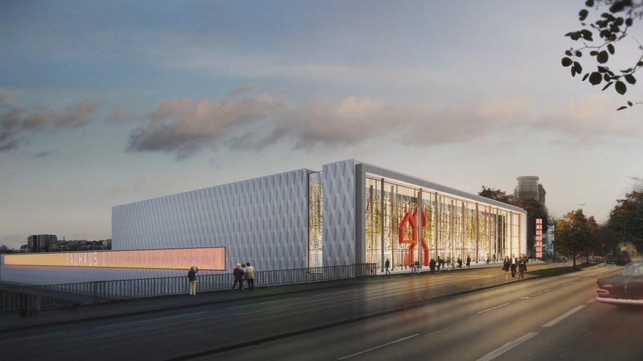 Bauhaus Berlin Halensee fabulous alucobond 3d façade to clad the bauhaus berlin