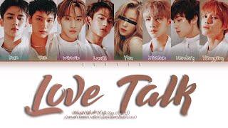 WayV (威神V) + You (당신)  -  'Love Talk' (8 members ver.) | (Color Coded Lyrics Eng)