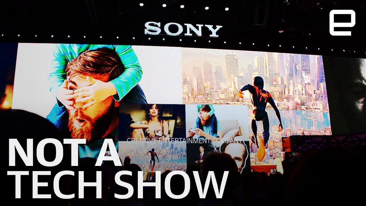 Sony's CES 2019 Show Was Not A Tech Show