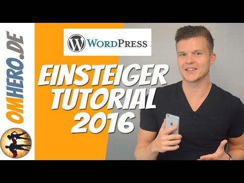 WordPress Tutorial 2016 für Anfänger [Deutsch/German] – (01) Website erstellen