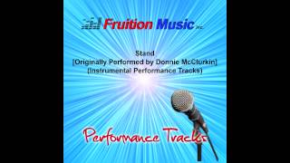 Stand (Lowest Key) [Originally Performed by Donnie McClurkin] [Instrumental Track] SAMPLE