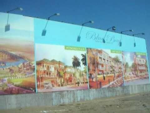 UAE Najoom Island Billboards and Street Light on Solar Power Salim Mastan
