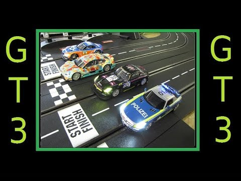 2018 GT3 Digital Slot Car League Race 7 Spa Francorchamps Belgium