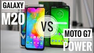 Galaxy M20 vs Moto G7 Power: qual MELHOR?