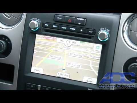 Advent OE Navigation For Ford F-150: IGo Primo Navigation Operation